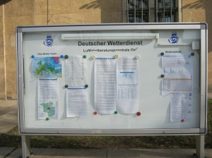 """Weerbericht """"Deutscher Wetterdienst"""""""