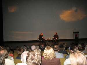 04/09/13: Daniel Kehlmann en Thomas Brussig in het Haus der Festspiele in Berlijn