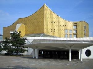 Die Berliner Philharmonie, hoofdingang