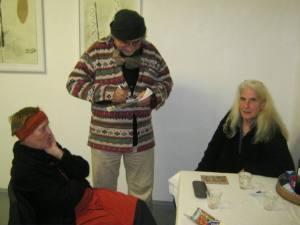 V.l.n.r. Sigrid Hartlmaier, Rainer Weczorek, Ursula Kamischke