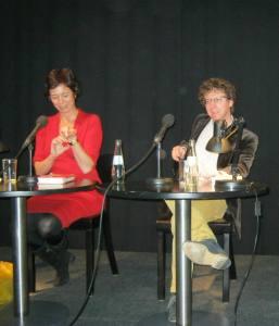 Eva Menasse en Arnon Grunberg