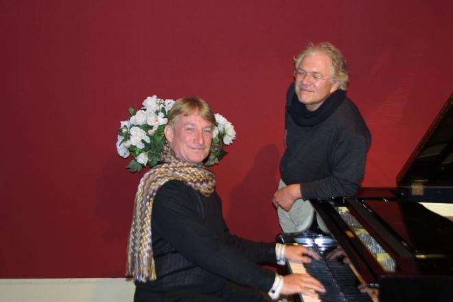 Robert Kreis (l) en Will Kaufmann