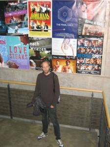 Daniel Abma in de film- en televisieacademie 'Konrad Wolf' in Potsdam