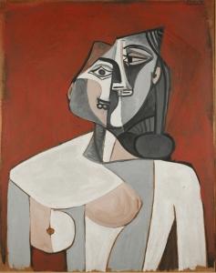 Pablo Picasso: Torso of a Woman, 1953. © Succession Picasso / VG Bild-Kunst, Bonn 2015. Photo Avraham Hay