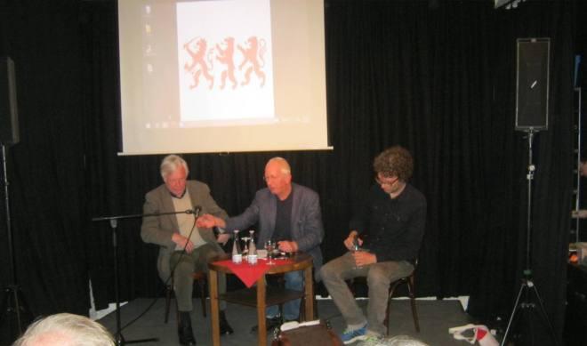V.l.n.r.: Koos van Weringh, Antoine Verbij en Bas van der Schot