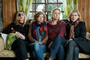 De vijf zussen uit de serie 'Clan'. Foto: ZDF & Sofie Silbermann