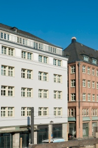 Börsenverein des Deutschen Buchhandels aan de Braubachstrasse in Frankfurt am Main