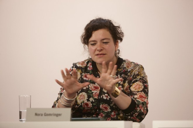 Nora Gomringer (foto Johannes Puch - http://www.johannespuch.at)