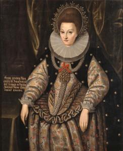 Anna van Pruisen (Koningsbergen, 3 juli 1576 - Berlijn, 30 augustus 1625) was de oudste dochter van Albrecht Frederik van Pruisen en van Maria Eleonora van Gulik-Kleef. Foto: Jörg P. Anders /© SPSG