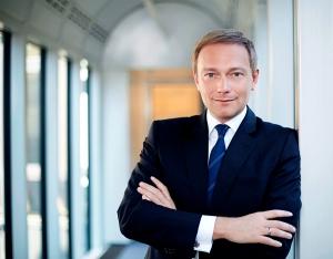 FDP partijleider Christian Lindner