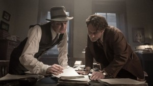 Colin Firth en Jude Law in Genius van Michael Grandage
