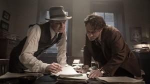 Colin Firth en Jude Law in Genius van Michael Grandage