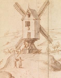 Umkreis Pieter Brueghel d. J.: Hochzeitszug zur Kirche, 1596 (?) Germanisches Nationalmuseum, Graphische Sammlung