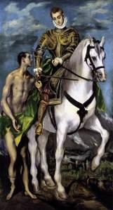 El Greco: Der Heilige Martin und der Bettler, um 1597/99 © Courtesy National Gallery of Art, Washington