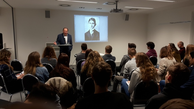 Workshop Reiner Stach over Kafka-biografie