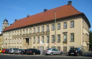 """Hoofdgebouw van de """"Alten Münze"""" aan de Mühlendamm 3 (foto: Wikipedia)"""