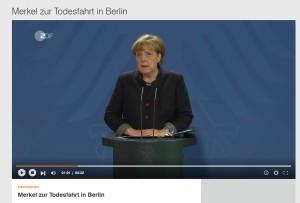 Persconferentie Angela Merkel, 20.12.2016