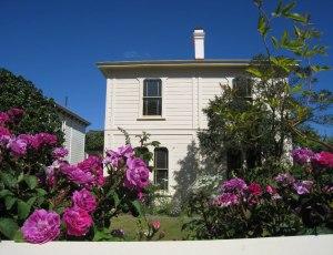 Geboortehuis Katherine Mansfield in Nieuw-Zeeland.