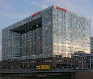 Kantoor van Der Spiegel in de Hamburgse 'HafenCity'