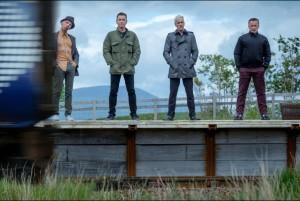 Ewen Bremner, Ewan McGregor, Jonny Lee Miller, Robert Carlyle. © Sony Pictures Releasing GmbH