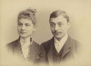 Helene Müller and Anton Kröller ca. 1888 (Kröller-Müller Museum)